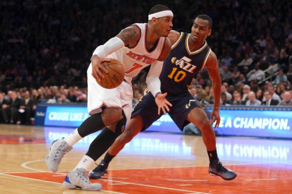 NBA: Utah Jazz at New York Knicks